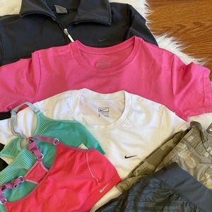 Bundle Nike workout clothes